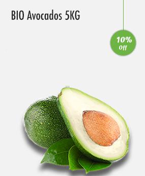 BIO Avocados 5KG