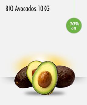 BIO Avocados 10KG